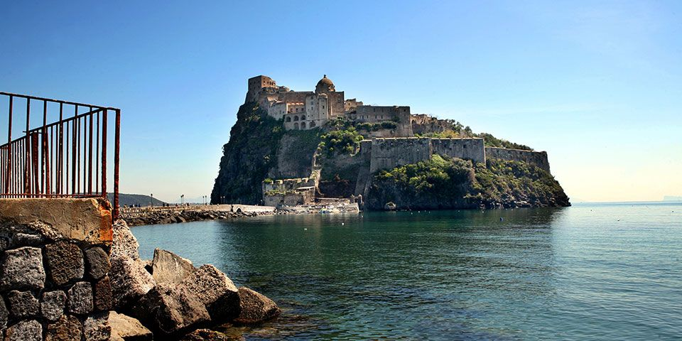 The volcanic island of Ischia