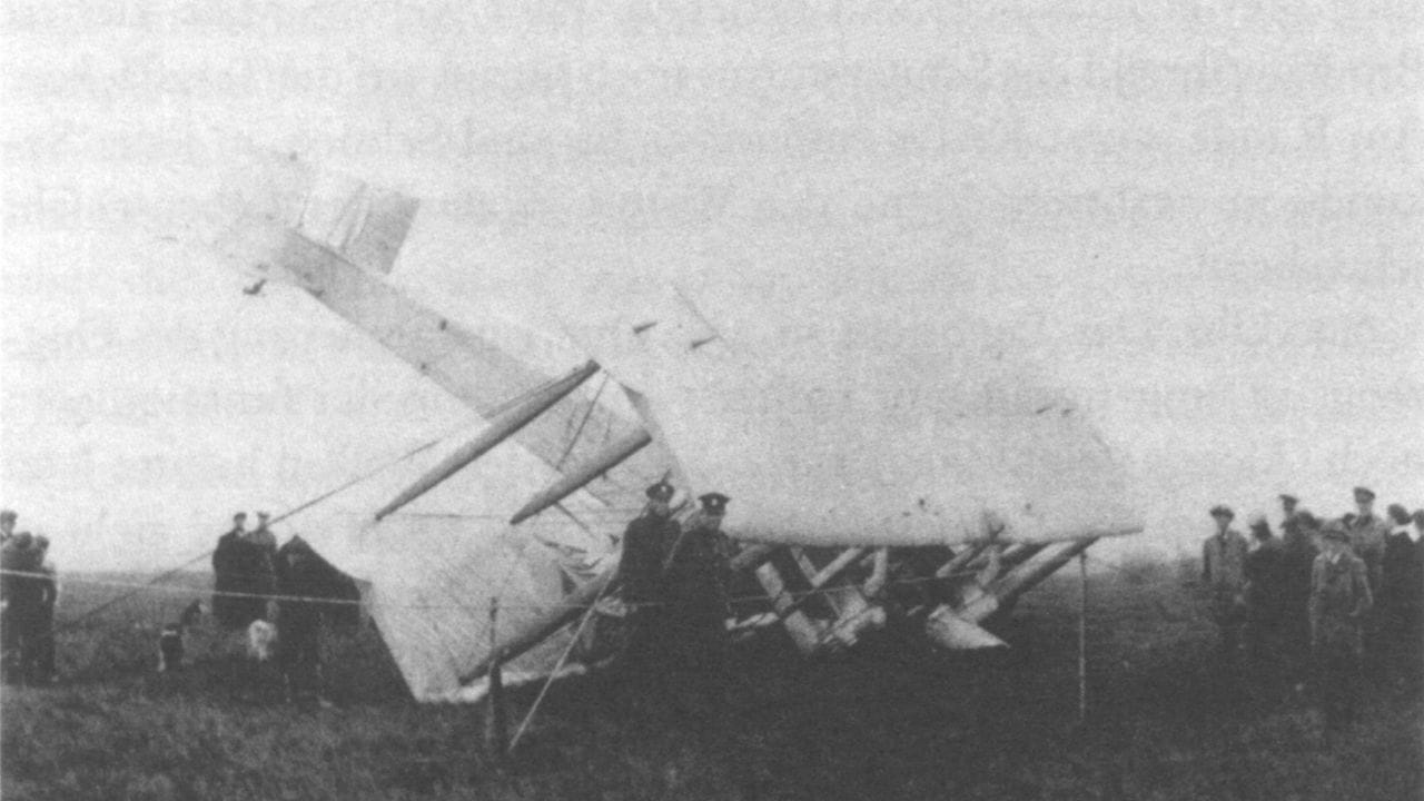 Alcock and Brown's plane